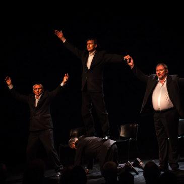 Czterech aktorów na zakończenie SZPAKa
