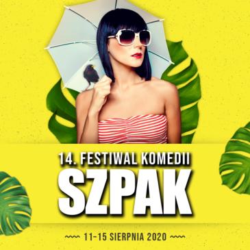 14. FESTIWAL KOMEDII SZPAK odbędzie się latem!